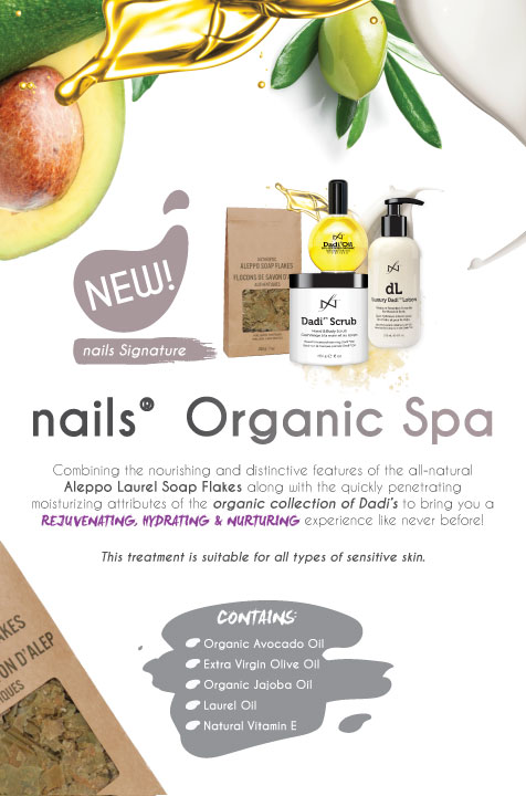 nails Organic Spa Treatment