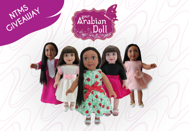 WIN AN EXCLUSIVE ARABIAN DOLL WORTH UP TO 2,500 AED