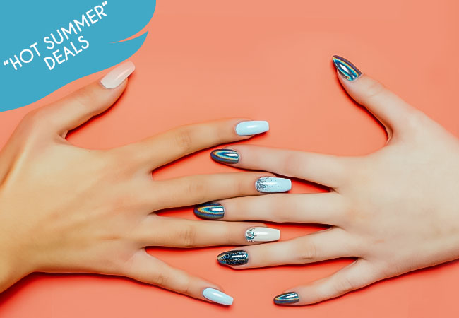 Keep your nails SUMMER-READY!