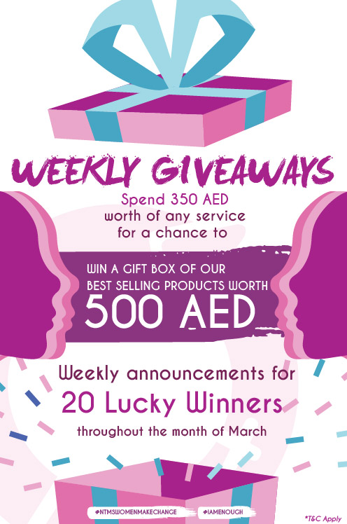 Weekly Giveaways Womens Month