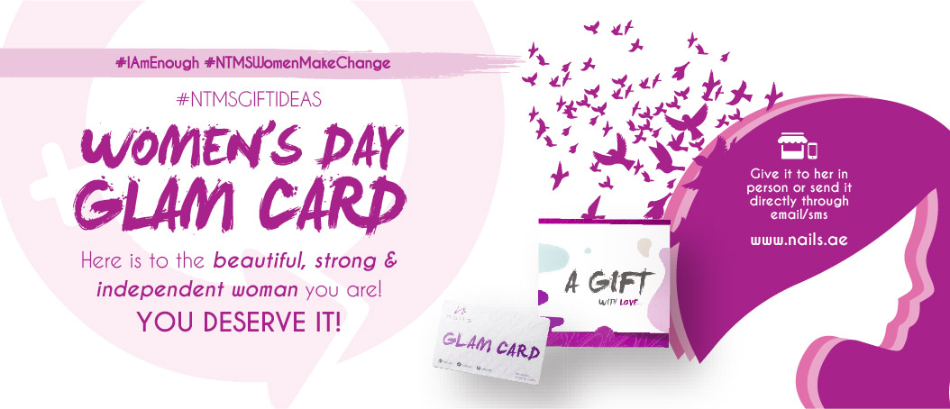 Women's Day Glam Card