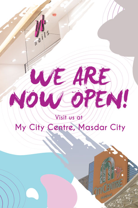 We are Open at My City Centre Masdar!