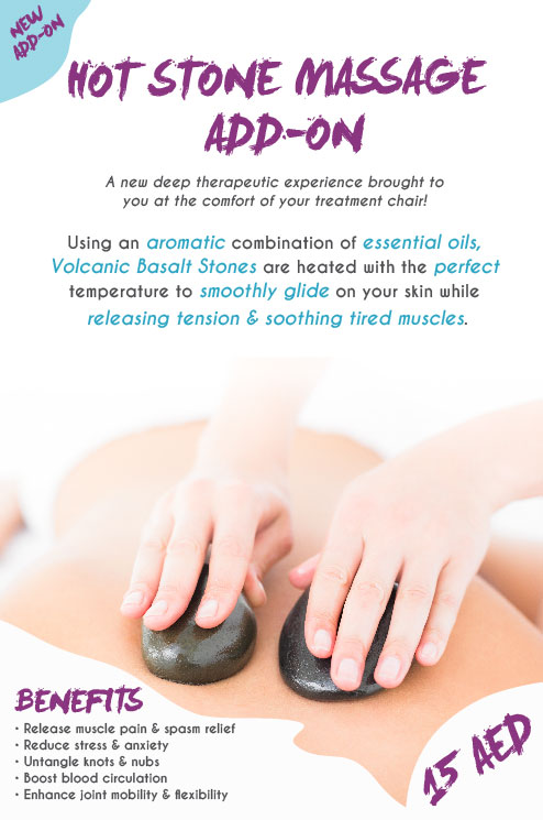 Hot Stone Massage Add-on